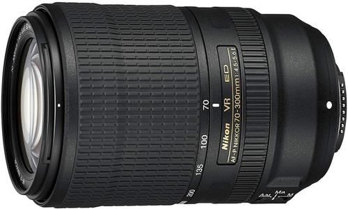 Nikon AF-P 70-300mm is another cool addition to the best Nikon camera Lens