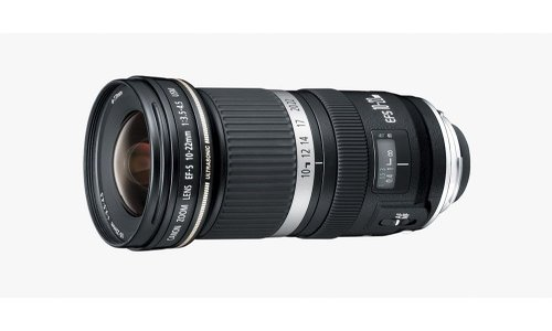 Canon EF-S 10-22mm  DSLR Lens for sale.