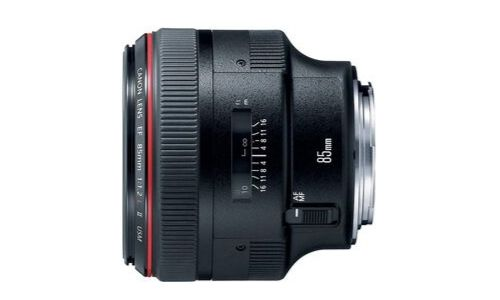 Canon EF 85mm f_1.2L II USM AF  for sale on Amazon