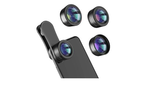 4. Phone Camera Lens, Upgraded 3 in 1 Phone Lens kit